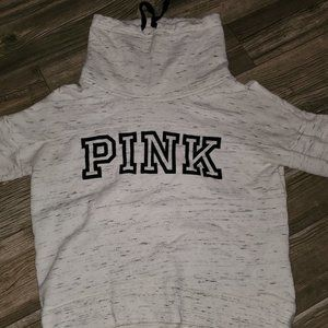 Victoria Secrets Pink Cowl Neck Sweater